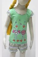 Пижама для девочки 10306 Лунокот