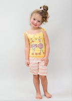 Пижама для девочки 10307 Лунокот