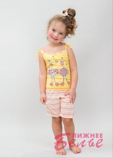 Пижама для девочек 10307 Лунокот