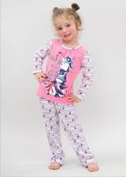 Пижама для девочек 10316 Лунокот