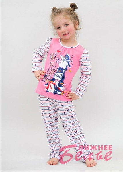 Пижама для девочки 10316 Лунокот