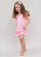 Сорочка для девочек 10401 Лунокот
