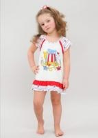 Сорочка для девочек 10402 Лунокот