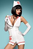 Комплект EMERGENCY DRESS + стетоскоп Obsessive