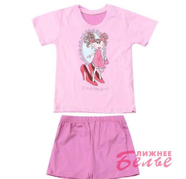 Пижама для девочки 787 Big girl Польша