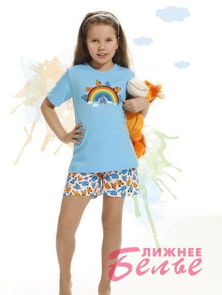 Пижама для девочки 787 Rainbow Cornette Польша