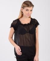 Блуза под корсет с коротким рукавом 373 NUANCE