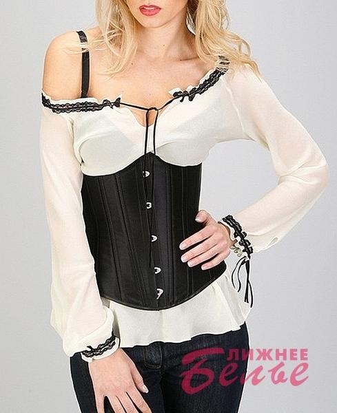 Блуза под корсет с длинным рукавом 363 NUANCE