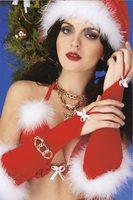 """Перчатки 7912 """"Шаловливая Санта"""" Belweiss"""